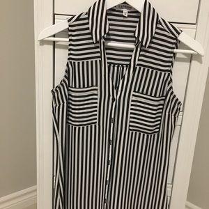 Sleeveless Portofino blouse